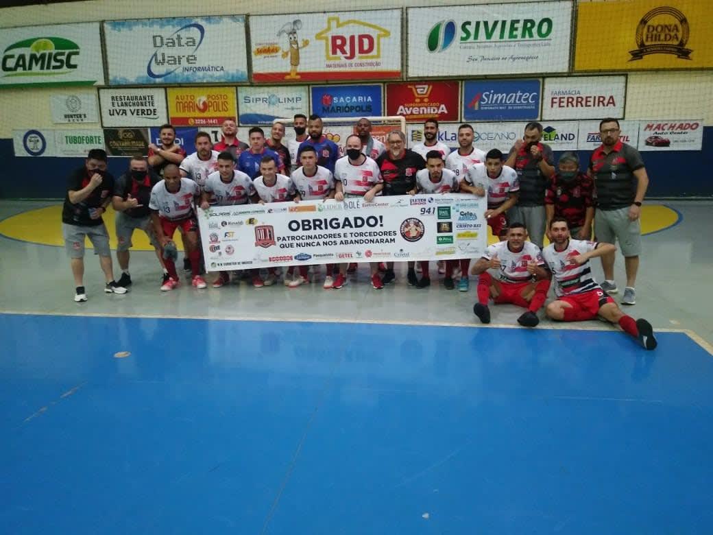 Paranaense de Futsal Chave Prata - Operário Laranjeiras goleia Mariópolis