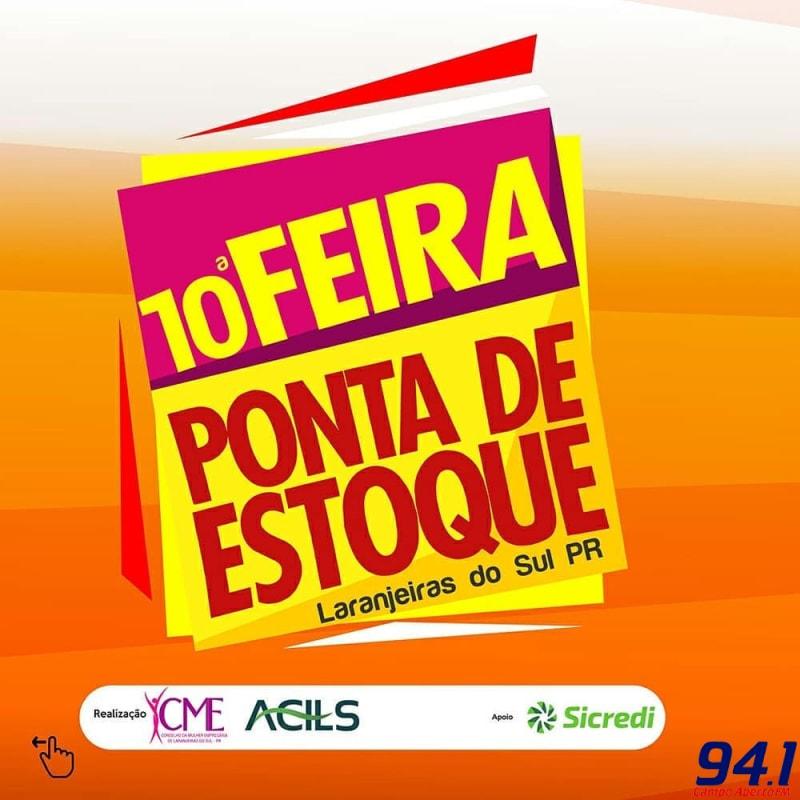 Termina amanhã (05) a décima edição da Feira Ponta de Estoque