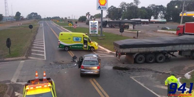 Candói - Grave acidente registrado da BR – 277