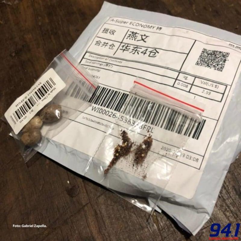 Alerta - Brasil tem 36 casos de pacotes oriundos da Ásia com sementes não solicitadas