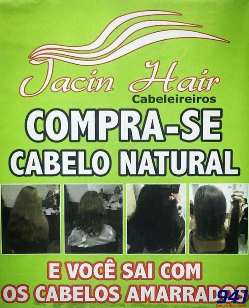 Equipe Jacin Hair estará comprando cabelo em Laranjeiras do Sul na terça feira (20)