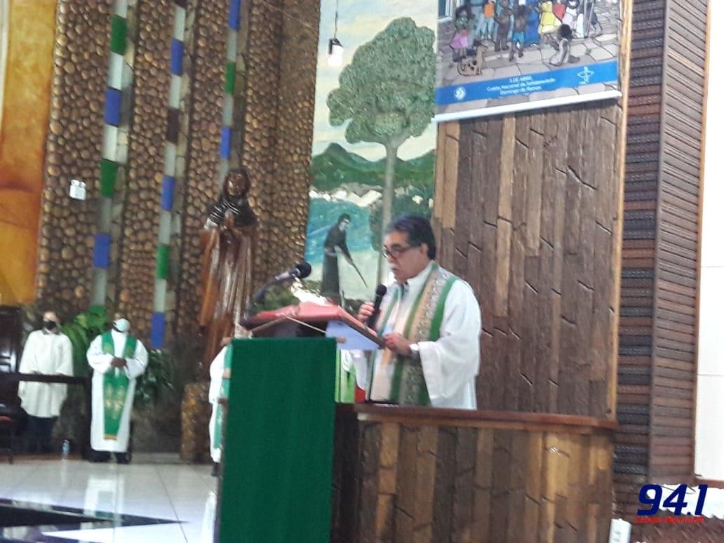 Missa com Bispo Dom Amilton da Diocese de Guarapuava