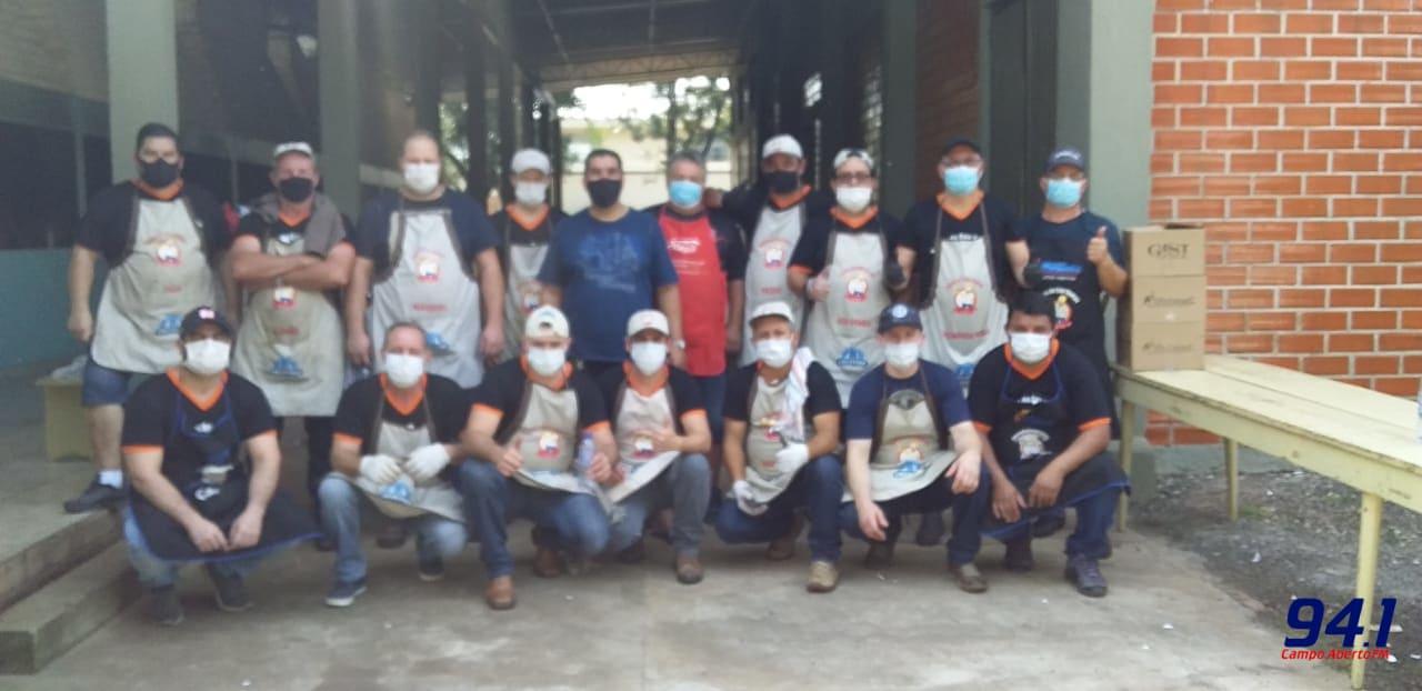 Entrega dos Kits Churrascos da festa em Honra a São Pedro