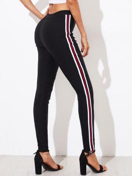 Pants - Skinny Stripe a Line