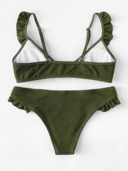 Bikini - Green Ruches