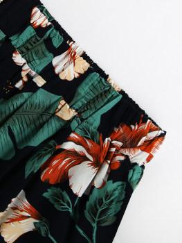 2 piece setje - Green Flowers everywhere