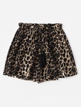 Shorts - Leopard