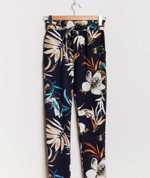 Pants - The perfect one - wit/blauw