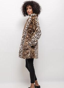 Coat - Leopard Lady