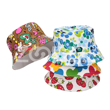 Babies Kids Fashion 2017 Hat Beanies Caps Sunscreen Printing Canvas Fishmen