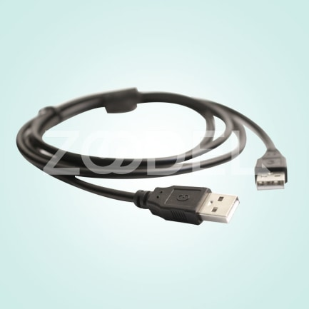 3m USB 20 Cable Lead A Male To A Male Plug High Speed Long Line Cord Black