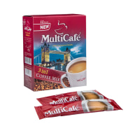 Instant Coffee Mix 3in1 - Pack of 12 Sachets - Multi Cafe