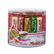 Instant Coffee - Variety Pack of 54 Sachets - Multi Cafe