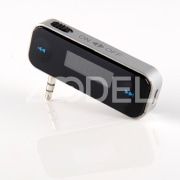 Rechargeable Car Fm Transmitter Radio Handsfree for iPhone 4 3GS iPod MP3 Nano #