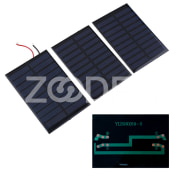 NEW 5V 160mA Solar Panel Battery power charger Module DIY Cell car boat home Solar Panel Portable Source