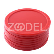 8Pcs 63mm Red ABS Air Hockey Children Table Mallet Goalies Air Hockey Pucks Ice pucks Free Shipping