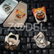 Ring Stand Holder Finger Mobile Phones iPhone Stable Animals Portable