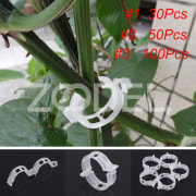 Tomato Clips Plant Clip Useful White Fashion Plants Fixed New Gadget Supports