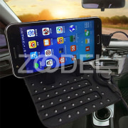 Silicone Anti-Slip Mat Auto Car Navigation Mobile Phone Holder USB Charger