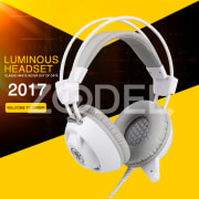 USB 3.5mm LED Luminous Gaming Headphones Earphone with MIC For PC Gamer