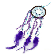 Dream Catcher DIY Kit Feather Home Wall Hanging Pendant Decor Ornament