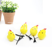 Cute Chicks Small Yellow Mini Chicken Hair Clip Accessories Girls Women Gift
