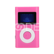 MP3 Player Digital Music Player Mini LCD Screen Stereo 2.0 Waterproof Sweatproof Support TF Card Sport