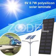 Solar Cells Photovoltaic Panels Durable 0.7W 5V Board DIY Solar Panel Charging Solar Energy