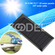 Solar Panel Solar Cells Durable Polysilicon 5V Charging Sun Power Photovoltaic Panels Board Module