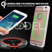 Qi Wireless Receiver Case Wireless Charging Receiver Durable DC 5V Gold Phone Accessories Mobile Phone Shell Dustproof