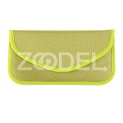 Signal Blocker Shielding Bag Poratble Nylon Anti-Radiation for Smartphone Wallet Case Anti-Disturbed Driving Recorder
