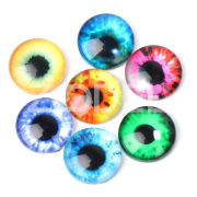 Eyeballs Decal Round Eyes Stickers Cute 20PCS/Bag 10/15/20MM Multi Purpose Handmade Hand Craft Doll Accessories DIY