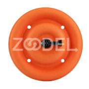 PULUZ Floating Disc Premium EVA Orange Action Camera Pet Dog Floaty Mount Traning Surfing