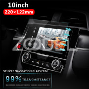 Protective Film Screen Protector Ultra Thin 220x122mm Transparent for Car GPS Anti-Reflective Guard Shield DVD LCD Monitor