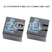 Original Car Relay Parts 10Contact 2x Spare Durable Sharan GM5