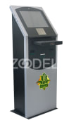Cashless ATM - Information and Advertising Kiosk