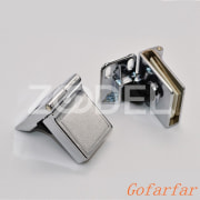 Glass Door Display Cabinet Metal Hinge Zinc Alloy Furniture Hinges