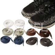 Fashion Women Men Athletic Running Shoelaces Elastic Silicone Shoe Lace All Sneakers