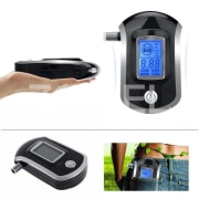 New Design Mini Digital Alcohol Meter with 360 Degree Rotating Nozzle / Dual Display Alcohol Tester AT / 838