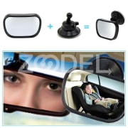 Mini Safety Car Back Seat Baby View Mirror Adjustable Baby Rear Convex Mirror Car Baby Kids Monitor