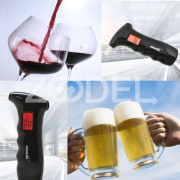New Mini Police Alcohol Tester Breathalyzer Alcohol Detector with Red Backlight LCD Display &  Blow Tube