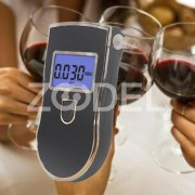 New Digital LCD Police Breath Alcohol Tester Test Analyzer Detector Breathalyzer