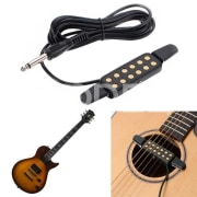 Guitar Pickup Sound Acoustic Hole Guitar Pickup Classical High Quality Plug Amplifier Musical Instruments
