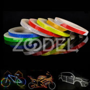 Cycling Rim Reflective Stickers Decal 8M Length