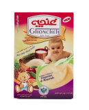 Baby Food Rice With Milk Mixed Fruits 300 gr Ghoncheh Parvar