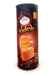 Potato chips Ketchup Flavored 130 gr Fidele