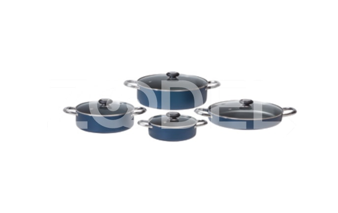 Pot Service 8 Pcs Lina Model Kaj Teflon
