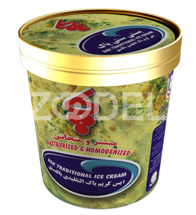 Traditional Saffron Ice Cream 570 gr