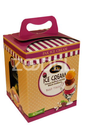 Pak Ice Cream with Four Flavors