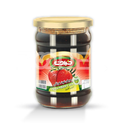 Strawberry Jam 300 Gr In Jar Taravat Brand